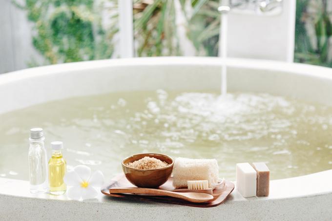 お風呂とバスソルトの画像