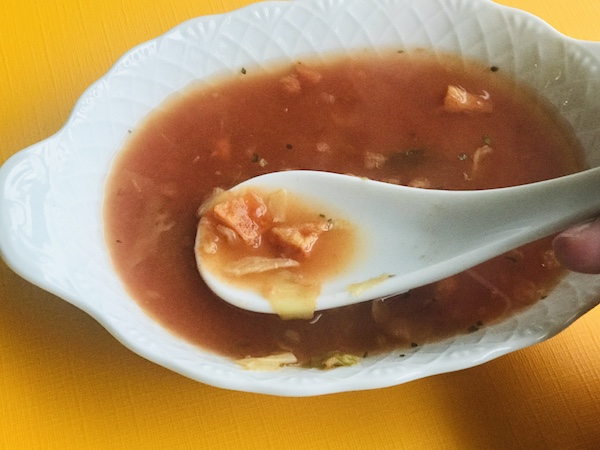 もち麦トマトスープをつくってみた