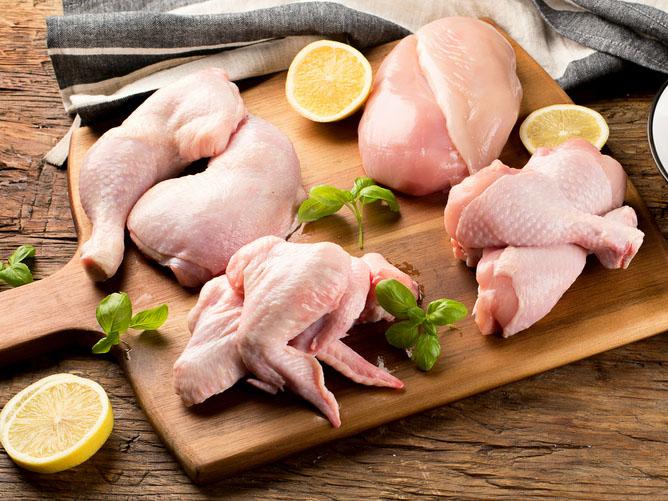 鶏肉部位別画像