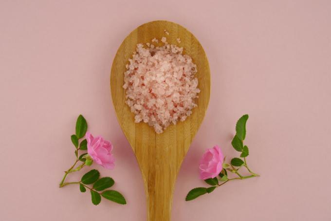 入浴剤の塩