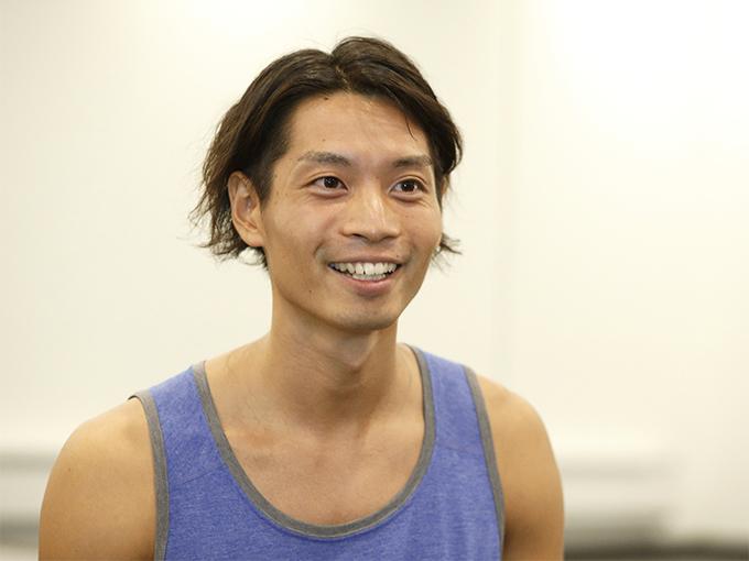 ホットヨガスタジオLAVAインストラクター山口陽平さん