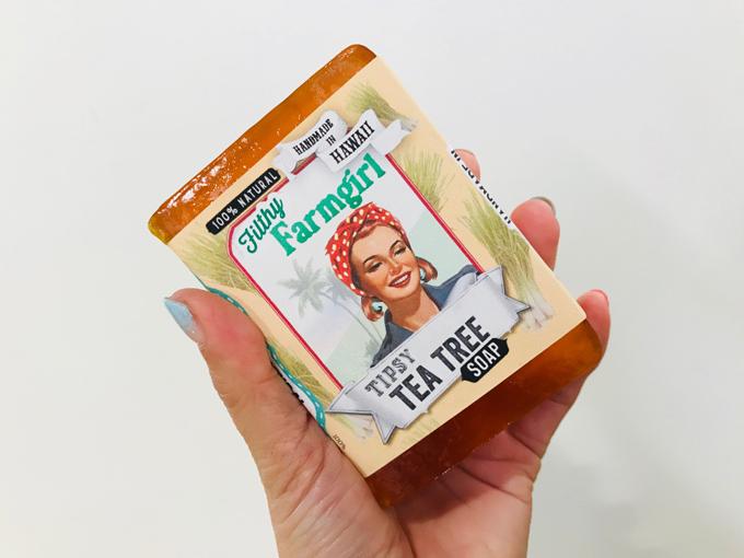 フィルシー・ファームガールの石鹸