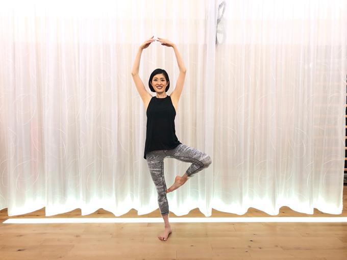 左足を持ち上げる(image7-7)