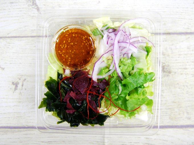 ふたを外した「白菜のチョレギサラダ」の画像