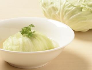 [冬キャベツのレシピ]スープで煮込むダブルロールキャベツ