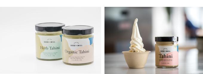 ソーゴ&ミルのタヒニ,タヒニとアイスクリーム