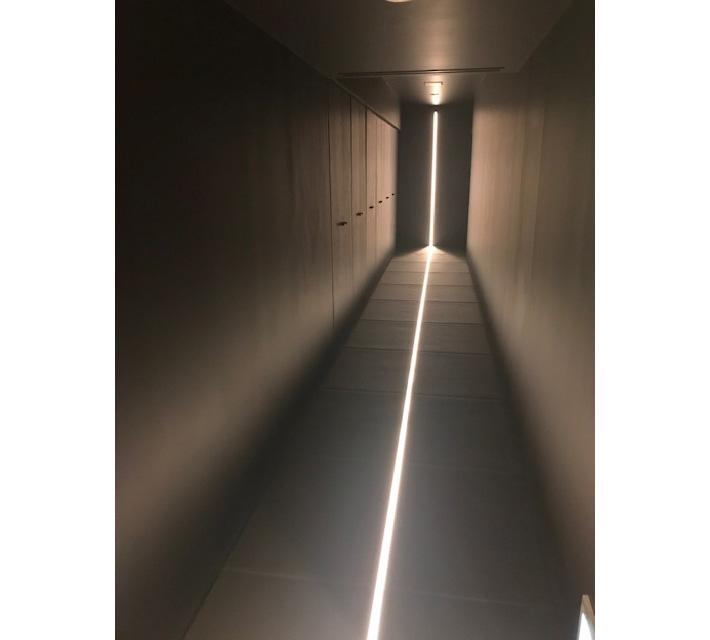 瞑想スタジオの入り口