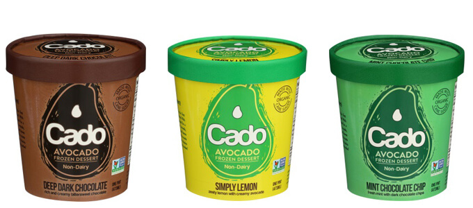 ディープ・ダークチョコレート味、シンプリーレモン味、ミント・チョコレートチップ味