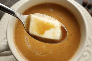バターコーヒーのアップ画像