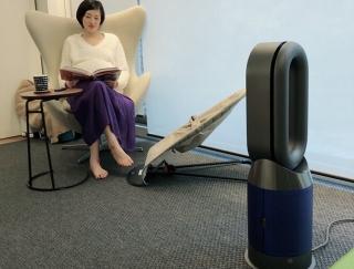 小さな子どもがいても安心!おしゃれなDyson Pure Hot+Cool空気清浄ファンヒーター