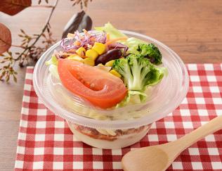 公式サイトで掲載された「クリーミーポテトサラダ タコスミート」の画像