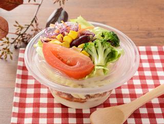 冬に最適なホットサラダ♡ ローソンの新商品「クリーミーポテトサラダ タコスミート」