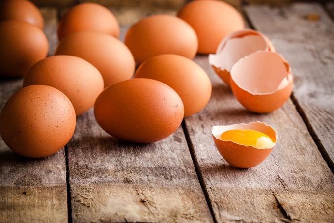 卵の集合と黄身