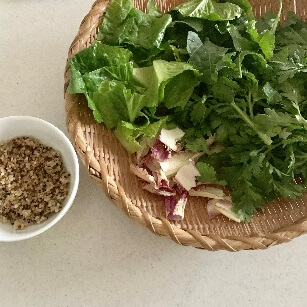 野菜と雑穀キヌア