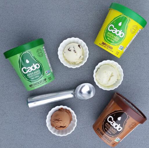 アボカド入りのアイスクリーム