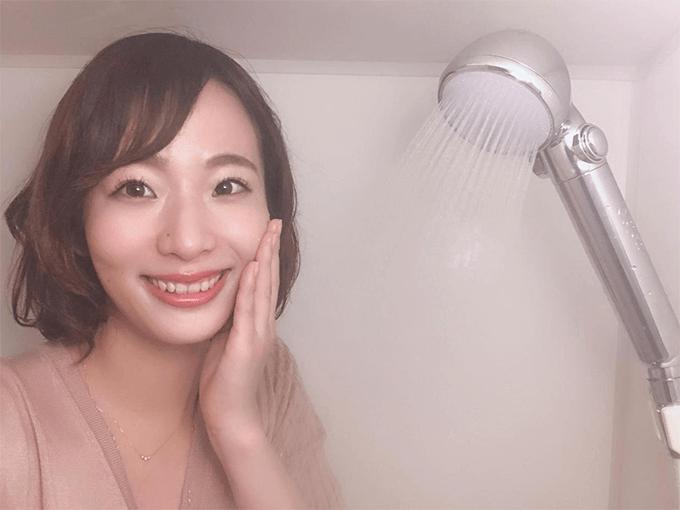 コスメトリートメントシャワーオーブルの使用写真