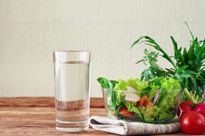 野菜とお水