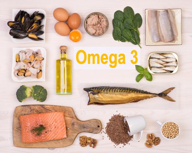 オメガ3脂肪酸を豊富に含む食材