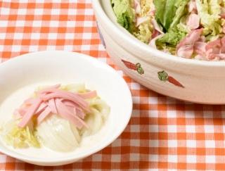 丸ごとや半分の白菜使い切りレシピ!豚肉の重ね鍋&クリーム煮