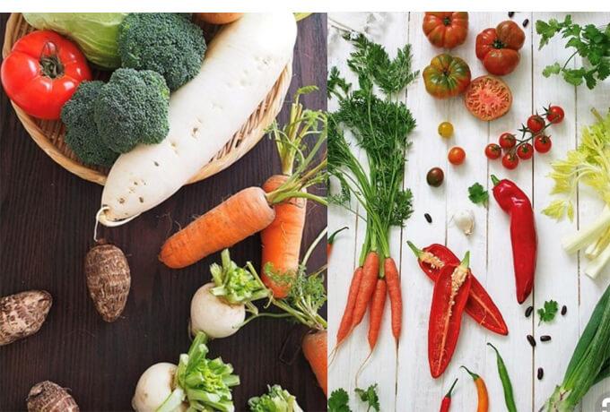 カラフルな野菜たち