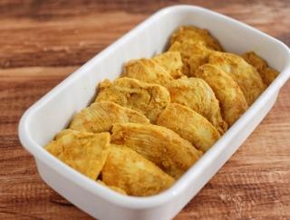 漬けて焼くだけで簡単!「鶏むね肉のタンドリーチキン」#今週の作り置き