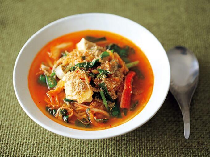 菌活キムチスープ