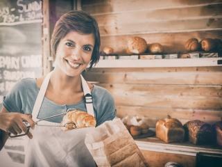パン工房の画像
