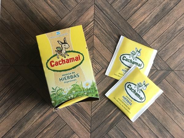 カチャマイ茶のパッケージ