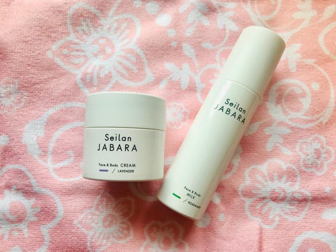 Seilan JABARAクリームと乳液