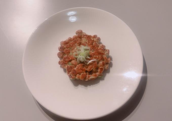 岡江さんの納豆焼き