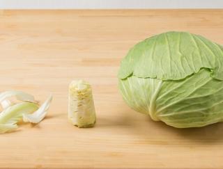 [キャベツの栄養]葉以上に栄養がある芯!切り方や食べ方は?