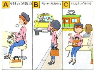 【心理テスト】駅で電車が止まっていました。あなたはどうする?