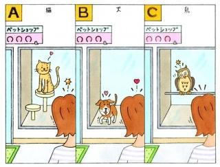 【心理テスト】ペットショップであなたと目があった動物は何?