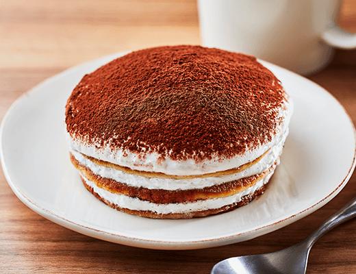 「ティラミス仕立てのクリームパンケーキ」の画像
