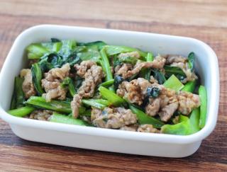 鉄分たっぷり!牛肉と小松菜のオイスターソース炒め #今週の作り置き
