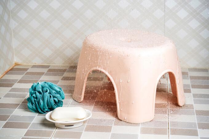 入浴時に使う道具セットの画像