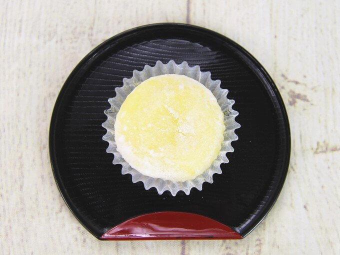 「もちとろ安納芋の生スイートポテト」を上から見た画像