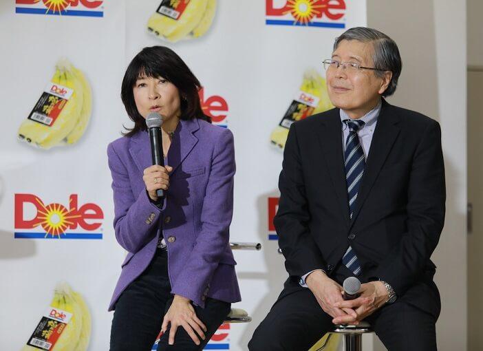 谷川真理さん、大澤先生