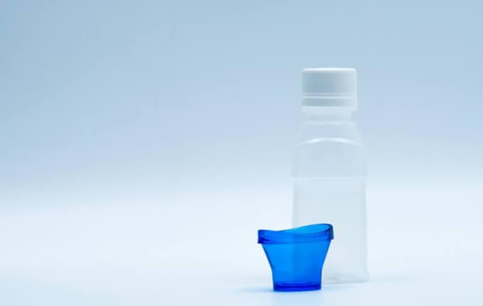 目を洗う容器