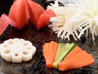[野菜の切り方]絶対に使える!お弁当に入れたい野菜の飾り切り