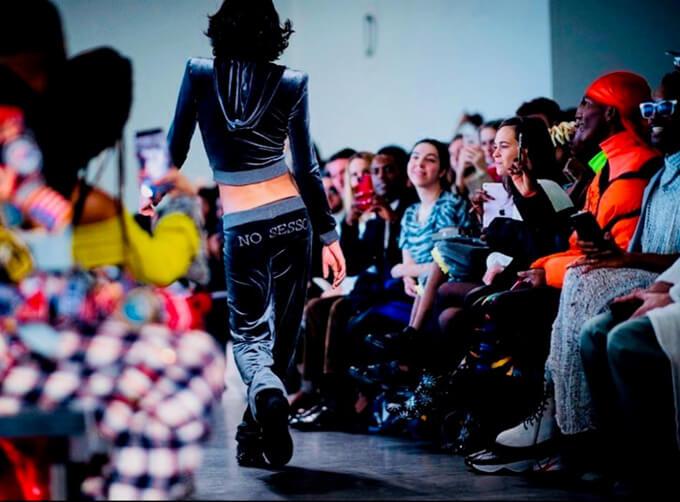 ニューヨーク・ファッション・ウィークのランウェイ