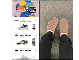 カメラアプリで試し履きができる!スニーカー好き必見の「Wanna Kicks」