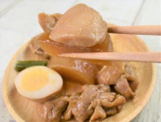 ジュワッとだしがあふれだす♡ 4種類のお惣菜が味わえるセブンの「味しみ鶏大根」
