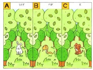 【心理テスト】夢をみました。森の中で目の前に現れた動物は何?