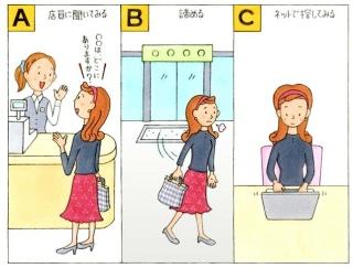 【心理テスト】買いもの中、見つからないものがあったらあなたはどうする?