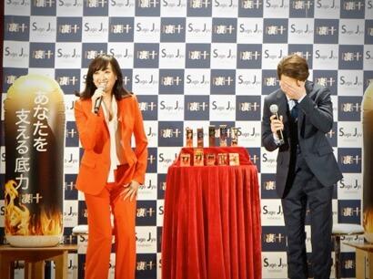 金子昇さんとふたり並んで登壇