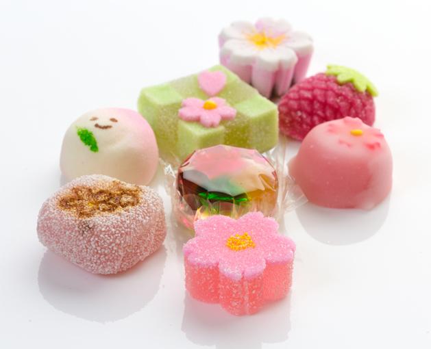 和菓子の集合