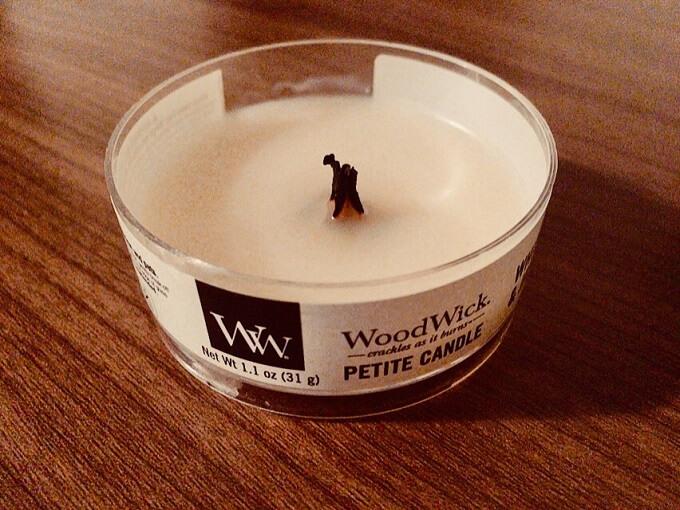 ウッドウィックのキャンドル