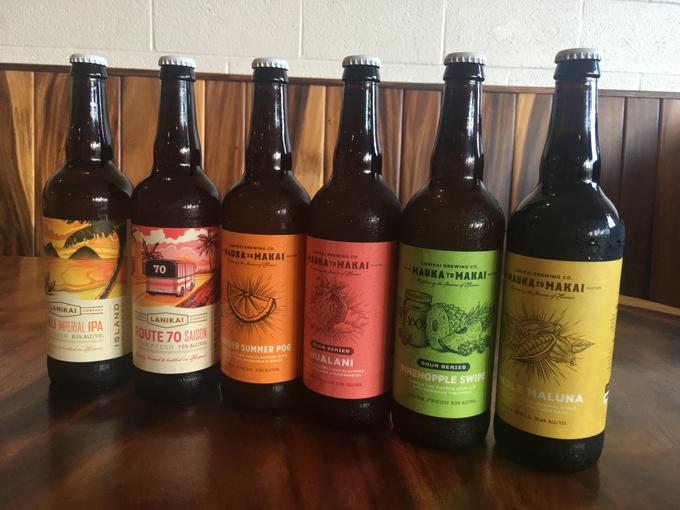 試飲したビール6種