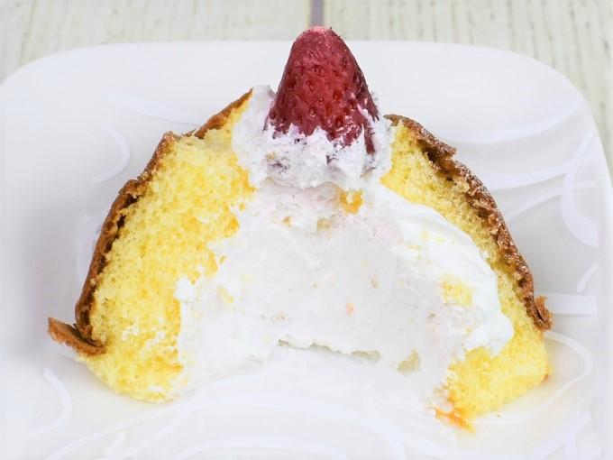 「ふわふ~わ -ふわっふわケーキ-」を切った画像